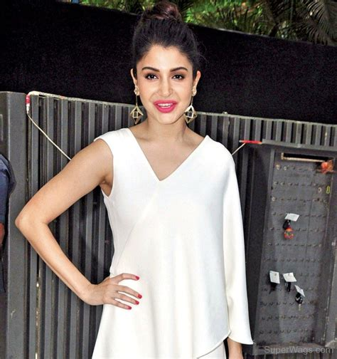 Sharma Dress anushka sharma in white dress wags
