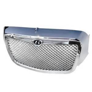 Chrysler 300 Chrome Parts Chrysler 300 2005 2010 Chrome Mesh Grille And Surround