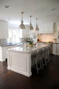White Kitchen Island by The Granite Gurus Carrara Marble White Quartzite