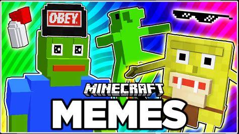 Meme Mod Minecraft - memes meet minecraft youtube