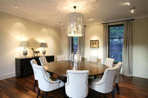 Modern Round Dining Room Tables 30 Eyecatching Round Dining Room Tables Design Ideas For