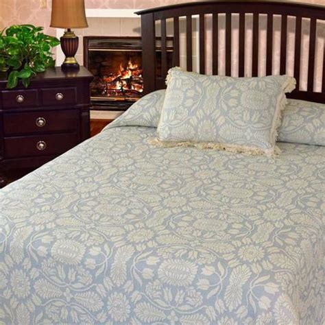 colonial coverlets colonial rose coverlet bates mill store