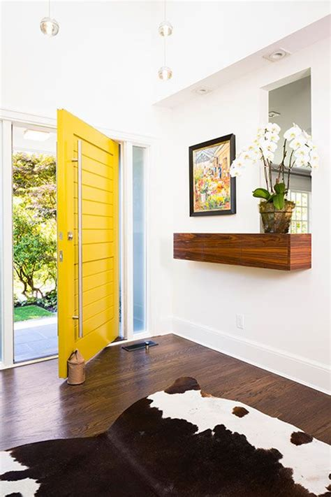 bright yellow door 26 bold front door ideas in bright colors shelterness