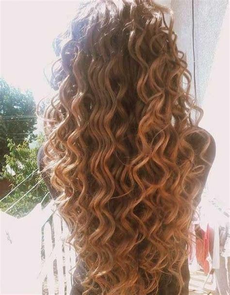 easy hairstyles permed hair loose perm on long hair regarding your own head