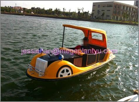 types of electric boats classic car type electric boat for 4 peason buy 4 person