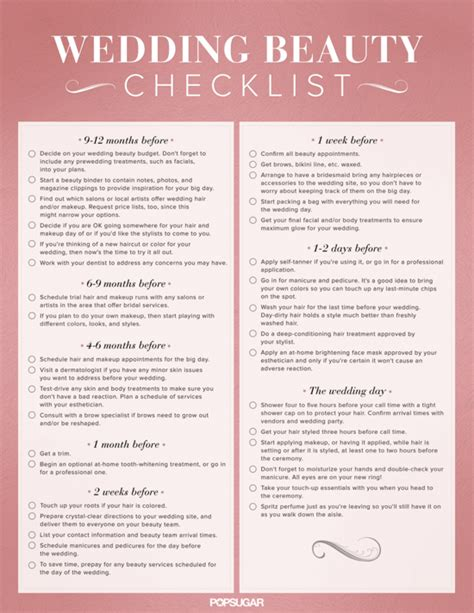 printable wedding decor checklist the importance of printable wedding planning checklist