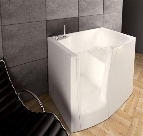 vasche da bagno con porta laterale vasca seduta e porta laterale