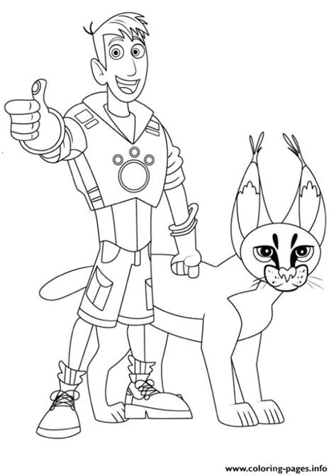 kratts coloring page get this kratts coloring pages to print ydg49