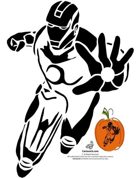 printable iron man pumpkin stencil marvel s avengers printable pumpkin stencils iron man