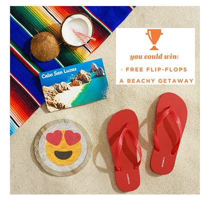 Free Instant Win - free old navy flip flops instant win game 10 006 winners