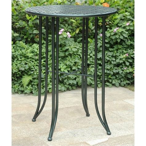 Patio Bar Height Tables Features