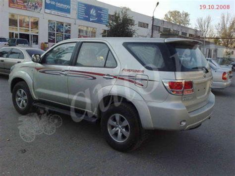 2008 Toyota For Sale 2008 Toyota Fortuner For Sale