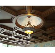 Decorative Coffered Vaulted Tin Ceiling Tiles