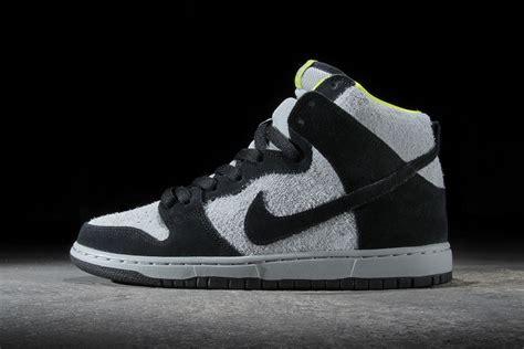 Nike Sb Dunk nike sb dunk high pro black base grey venom green hypebeast