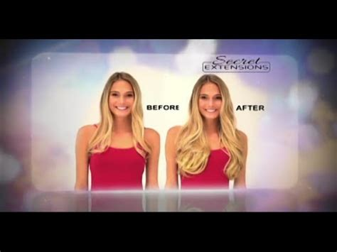 short hair in tv commercials secret extensions as seen on tv commercial buy secret