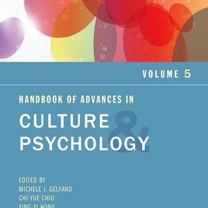 Handbook Of Culture And Psychology 寘 綷 綷 崧 綷 2015 綷