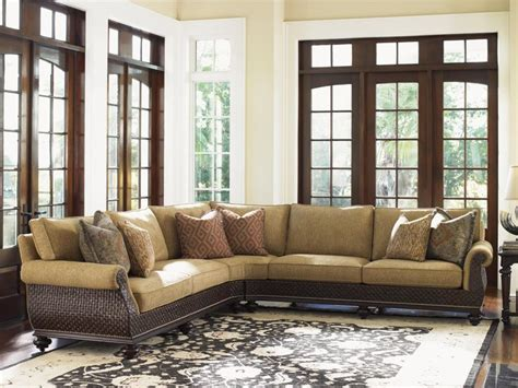 tommy bahama living room tommy bahama home island traditions westbury sectional