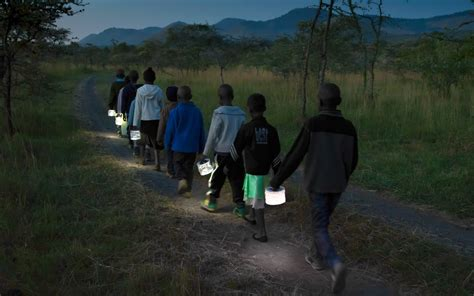luci lights bringing light  developing countries