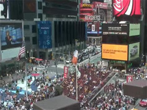 of new york web times square live nyc view