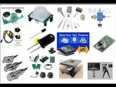 sensor type sensor basics different types of sensors with working