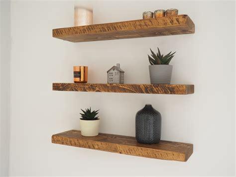 rustic wood floating shelves rustic floating shelves chunky wood shelf mantel