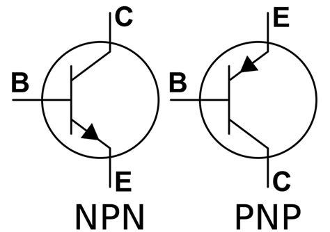 simbol transistor bipolar npn herramientas de para arduino el bjt o transistor de uni 243 n bipolar npn y pnp panama