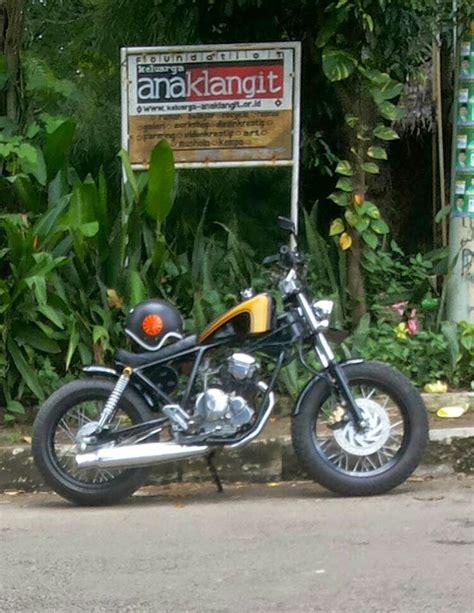 Velk Motor Custom Japstyle modifikasi motor anak bangsa japstyle bratsyle indonesia