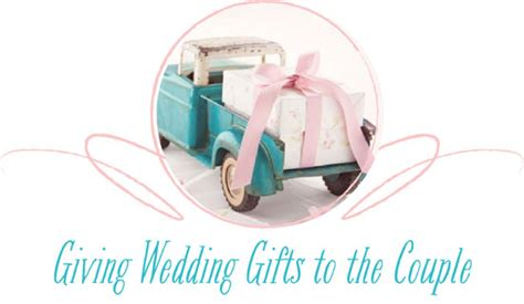 Wedding Gift Etiquette For Couples by The Canopy Artsy Weddings Weddings