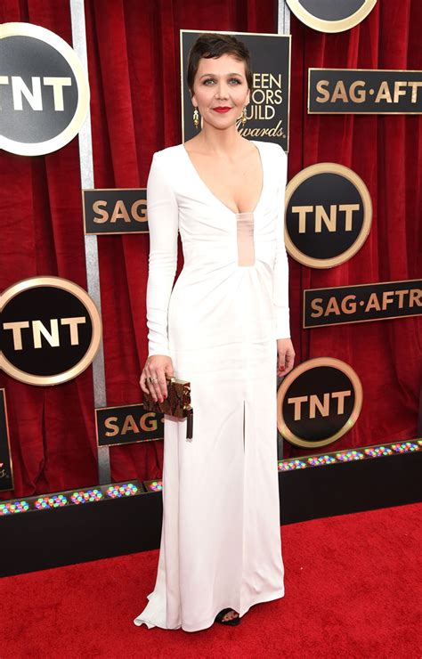 Sag Awards Carpet by Maggie Gyllenhaal In Thakoon At The 2015 Sag Awards