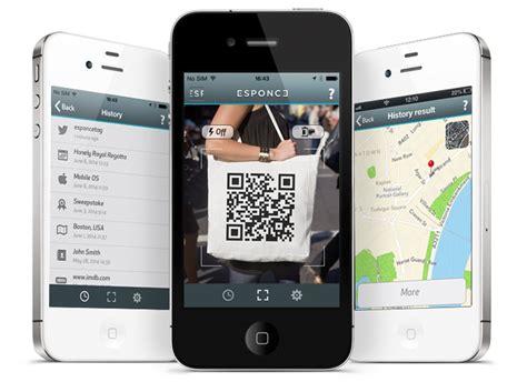 iphone qr scanner esponce qr code scanner