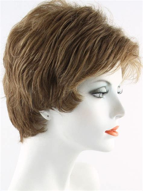 heavy frosted hair frosted wigs for women over 70 envy heather wig short