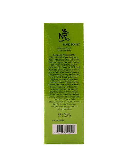 Sho Nr Dan Hair Tonic nr hair tonic daily nourishment hair scalp btl 200ml