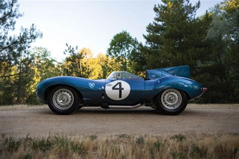 jaguar d type auction ecurie ecosse jaguar d type sets auction record just