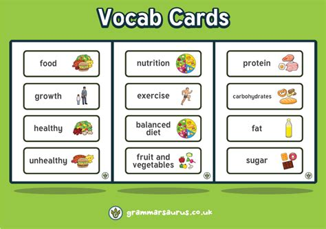 carbohydrates vocabulary new year 3 science animals including humans nutrition