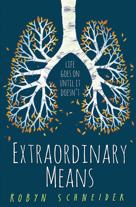 book review extraordinary means aimeesramblings