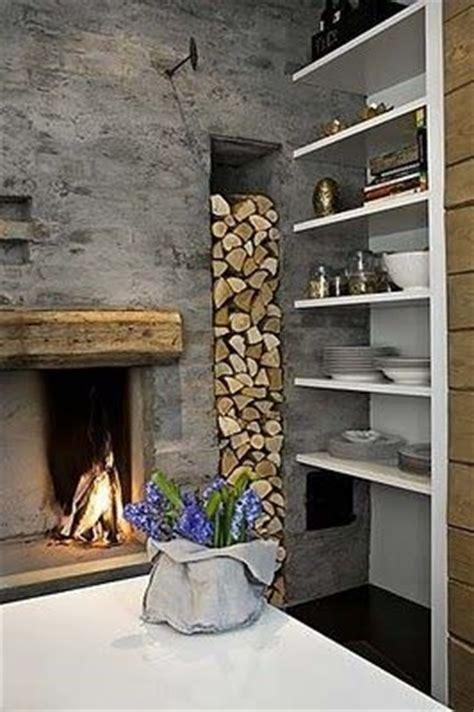 fireplace log storage fireplace and wood storage dzine