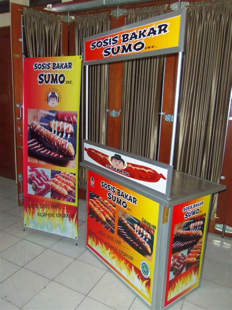 sosis bakar sumo  hot price paket kemitraan