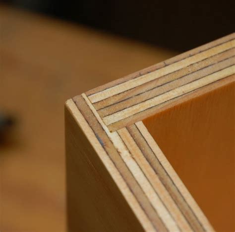 woodworking rabbet joint simple plywood box plywood box and woodworking