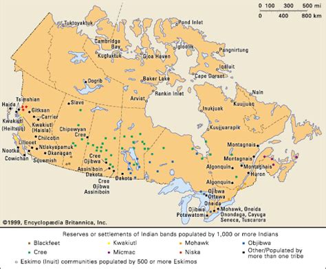canadian map of indian tribes cree indigenous communities in canada