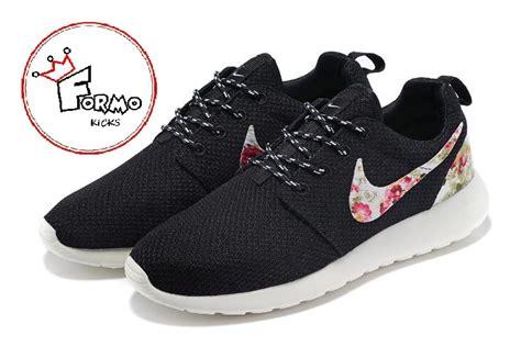 nike custom running shoes custom nike roshe run athletic running shoes with floral