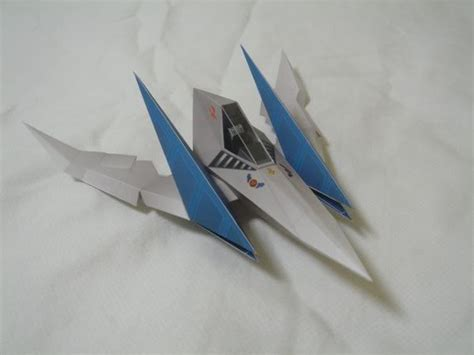 Arwing Papercraft - arwing 2 nintendo papercraft