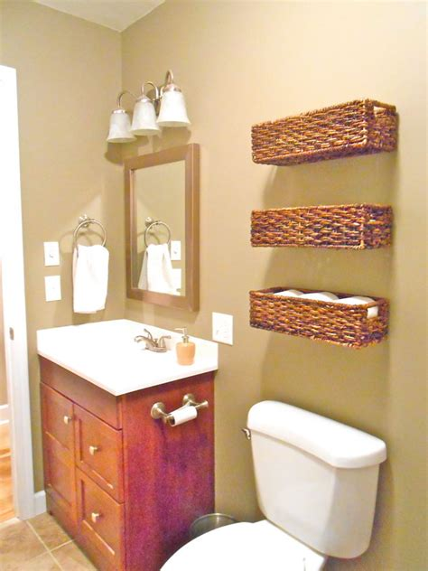 Baskets For Bathroom Storage The Toilet Storage Ideas For Space Hative