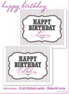 templates free birthday cards to print out at home free