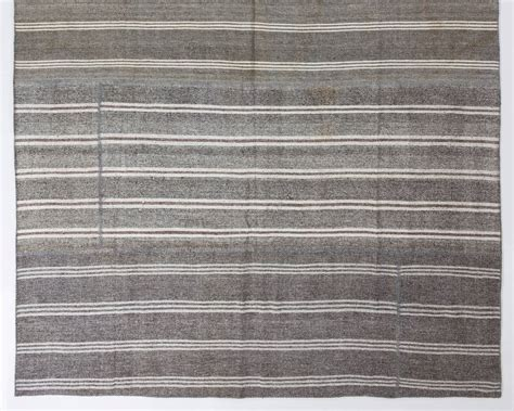 woven rugs cotton large cotton and goat wool kilim flat woven rug for sale at 1stdibs