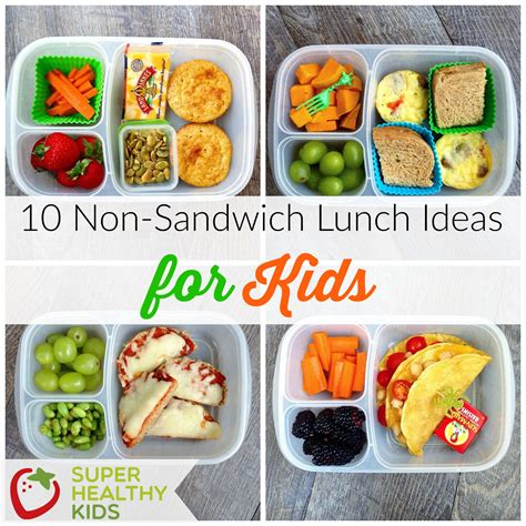 10 Great Kid S 10 non sandwich lunch ideas for kids healthy ideas for kids
