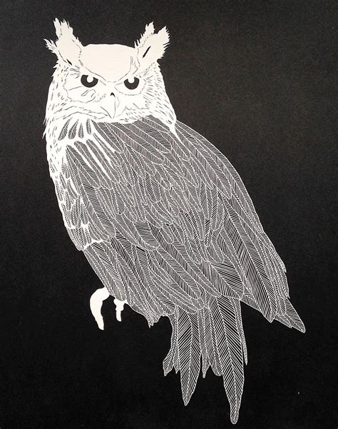 intricate illustrations cut   paper  maude white