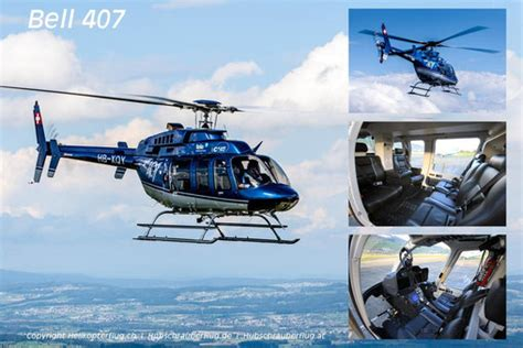 Helikopter Bell 407 helikopter bell 407 helikopterflug