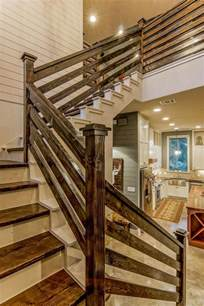 how to make a banister for stairs 25 best ideas about wood stair railings on