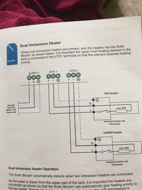 solar iboost wiring diynot forums
