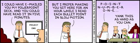 Carefully Proceeding Goodness Hell No 2 by Dilbert On Powerpoint Slidegenius Presentation Agency